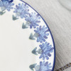 """12"""" Oval Platter in Bachelor Button"""