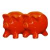Red Pig Salt & Pepper Shakers