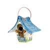 "6.5"" Wren Birdhouse Small, Multicolored"