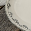 "15"" Oval Platter in Embossed Running Horse"