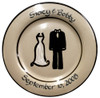 Personalized Wedding Plate