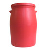 "17.25"" Large Flower Vase in Matte Red - Ships in 4 to 6 Weeks"