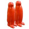 Penguin Salt & Pepper Shakers in Red