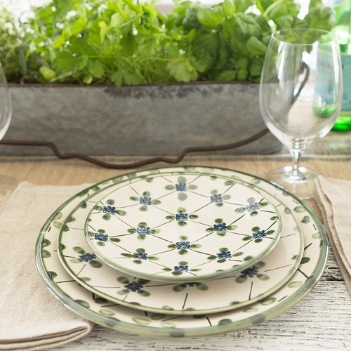 4-Piece Thin Place Setting in French Country
