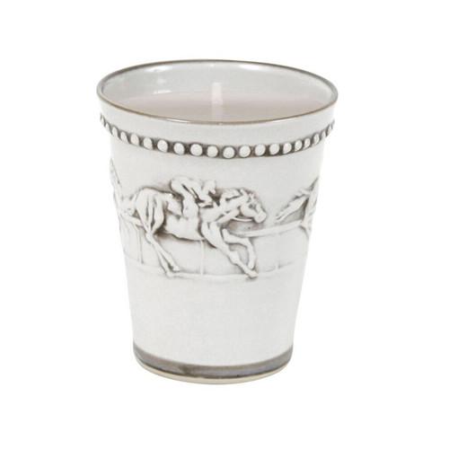 Kentucky Derby Candle, Running Horse Candle, Candle with Horses