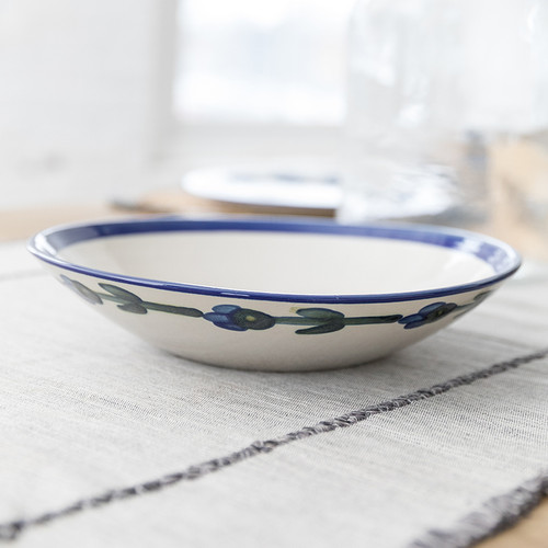 """11"""" Flared Bowl in Bachelor Button"""