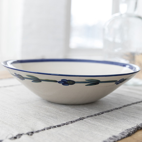 """13"""" Flared Bowl in Bachelor Button"""