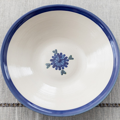 "13"" Flared Bowl in Bachelor Button"