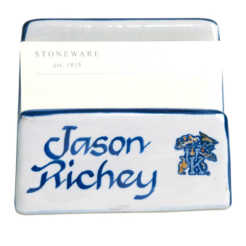 Personalized University of Kentucky Business Card Holder