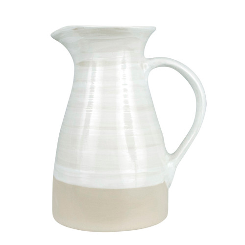 1 1/2 Qt Pitcher in White - Louisville Pottery Collection