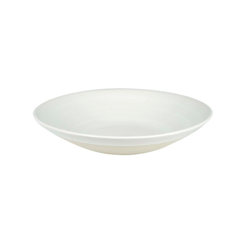 """11"""" Flared Bowl in White - Louisville Pottery Collection"""