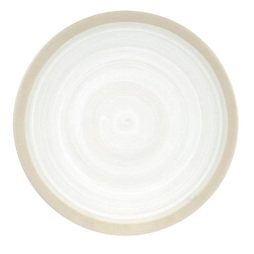 "14"" Thin Platter  in White - Louisville Pottery Collection"