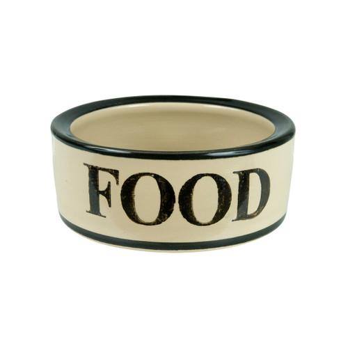 """5"""" Rimmed Pet Food Bowl"""