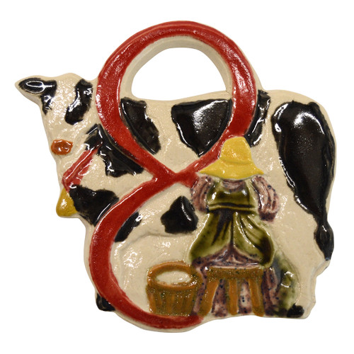 Eight Maids A Milking Twelve Days of Christmas Ornament