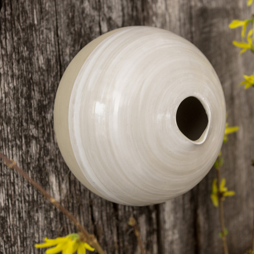 Sophia Birdhouse in White - Louisville Pottery Collection