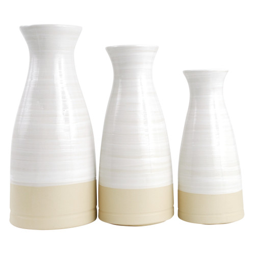 Small, Medium & Large Louisville Pottery Collection Vase/Carafe Set