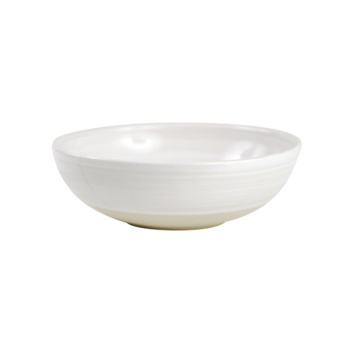 """9"""" Serving Bowl in White - Louisville Pottery Collection"""