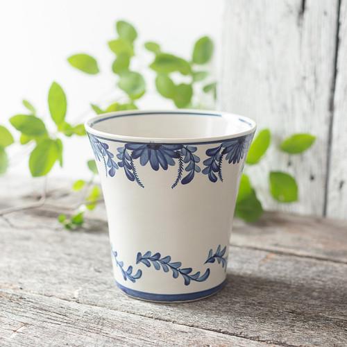 Medium Flared Pot in Elodie