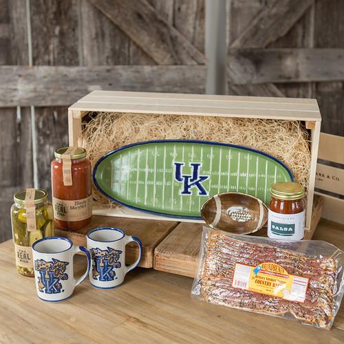 University of Kentucky Tailgate Gift Crate