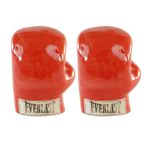Boxing Glove Salt and Pepper Shakers