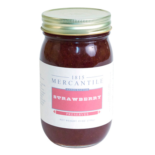 1815 Mercantile Strawberry Jam- 19 Ounces