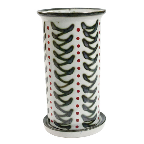 """10.5"""" Wine Cooler Saucer in Holly Graffiti"""