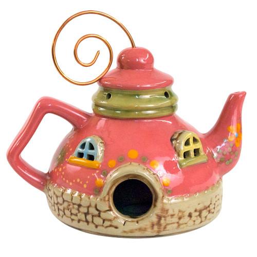 "8.5"" Komen Teapot Birdhouse (2013)"