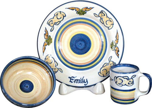 Personalized Child/'s Place Setting-Pottery-Place setting