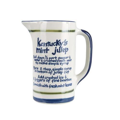 1 qt For Kentucky's Mint Julep Bar Pitcher