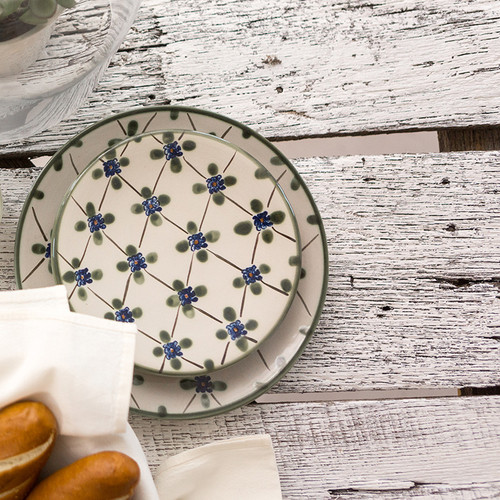 """14"""" Round Platter in French Country"""
