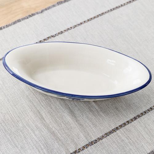 """15.5"""" Small Soirée Bowl in Bachelor Button"""