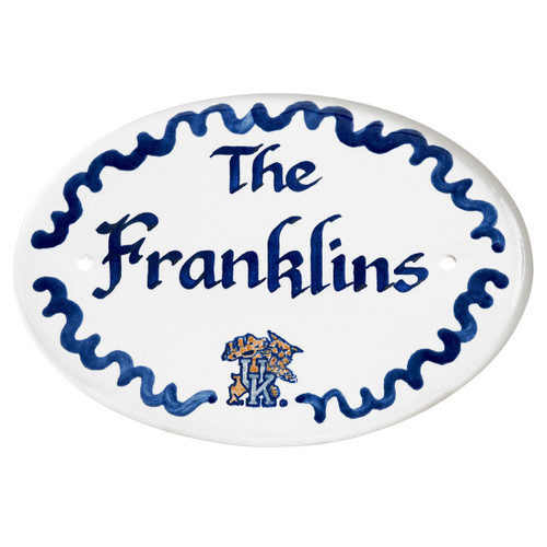 University of Kentucky, Personalized Door Plaque