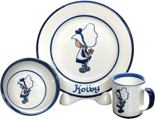 Personalized 3-Piece Child's Place Setting with Lil' Gal