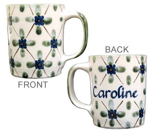 Personalized 14 oz Stoneware Mug