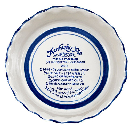 Kentucky Pie Pinched Rim Pie Plate