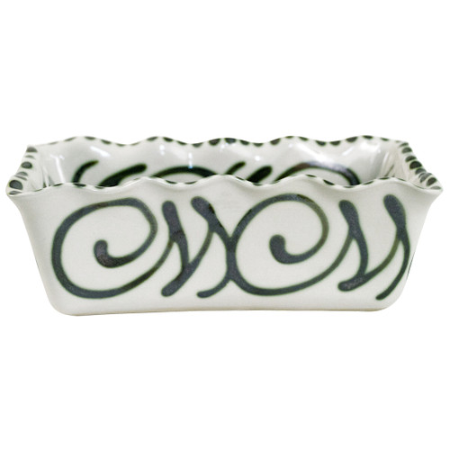 Loaf Pan 7.5 X 3.5 in Graffiti Green