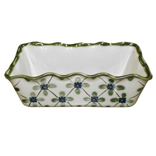 Pinched Rim Loaf Pan in French Country