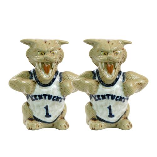 University of Kentucky Wildcat Salt & Pepper Shakers