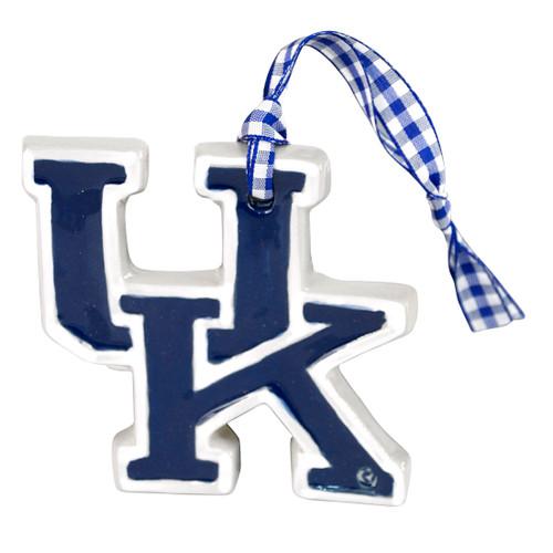 Embossed University of Kentucky Ornament