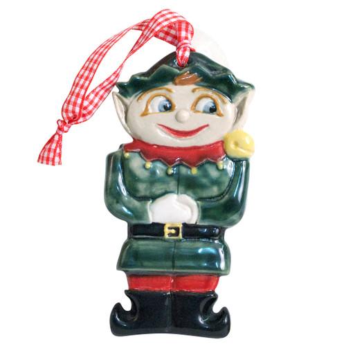 2014 Elf Ornament