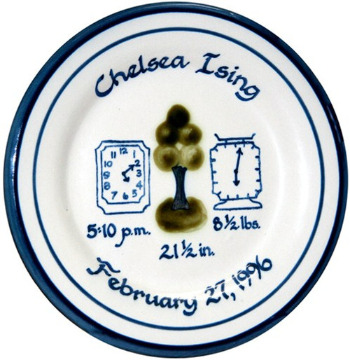 Personalized Baby Plate