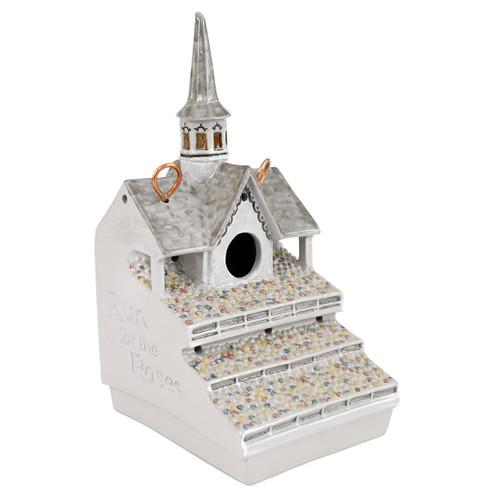 "11.5"" Twin Spires Birdhouse"
