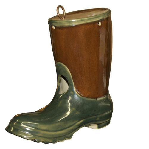 """8"""" Garden Boot Birdhouse, The Jon Carloftis Collection"""