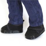 J31.  Black Canvas Casual Shoes