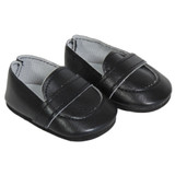Y34.  Matte Black Loafers