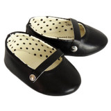 Black Ballet Flats for 18 inch dolls