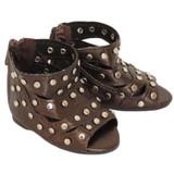 O20.  Studded Gladiator Sandals