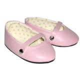 Y47.  Pink Ballet Flats