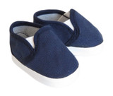 Canvas Slip-On Shoes for 18 inch boy or girl dolls.