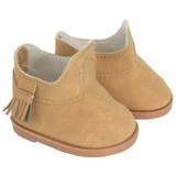 Camel boots for 18 inch American boy or girl dolls.